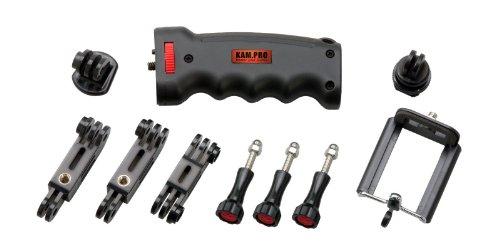 Kamerar kam.pro kit Ergo Pistol Hand Grip Kit with Tripod Mount For GoPro Go Cameras (Black) by Kamerar