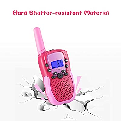 SnowCinda Toys for 3-12 Year Old Girls,Walkie Talkies for Kids with 22 Channels 2 Way Radio 3 Miles Long Range Toy for Outside Adventures, Best Gifts for 4-8 Year Old Boys and Girls: Toys & Games