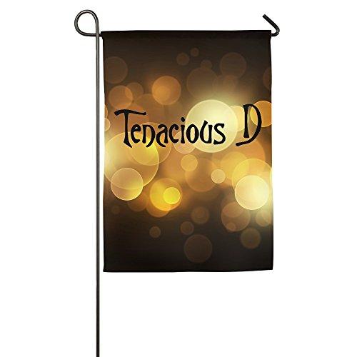 Tenacious D Logo Home Garden Flags White
