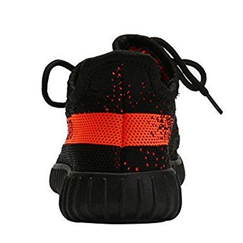JoL 350 Herren Damenmode Turnschuhe Atmungsaktive 350 Laufschuhe Für Sportliche Sport Gym Casual Trainning Orange