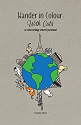 Wander in Colour: With Cats - A Colouring Travel Journal