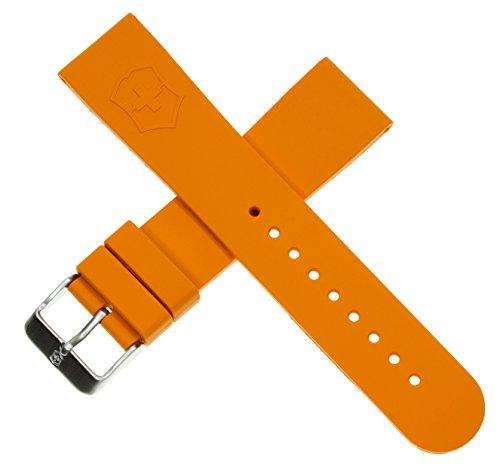 Victorinox Swiss Army Maverick Dive Orange Genuine Rubber Strap Diver Watch Band 20mm