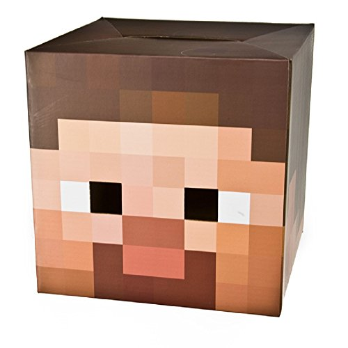 Minecraft - Steve Head Mask 12 x 12in]()