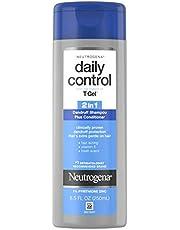 Neutrogena T/Gel Daily Control 2-in-1 Dandruff Shampoo Plus Conditioner 2in1 Shampoo Plus Conditioner, 8.5 Ounce, Pack of 1