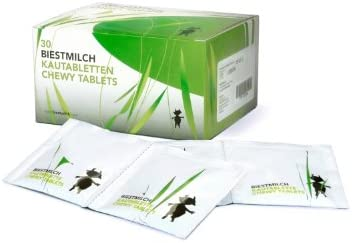 Biestmilch Chewy Tablets