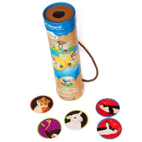 Noah's Ark Matching Game & Kaleidoscope, (Noahs Ark Animal Match Game)