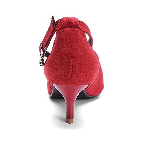 Femmes D'Orsay TAOFFEN TAOFFEN Red Femmes Sandales qtSx41EWW8