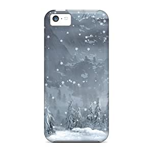 Durable Case For The Iphone 5c- Eco-friendly Retail Packaging(winter 2)