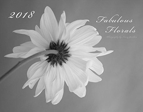 2018 Fabulous Florals Wall Calendar Large 11x14