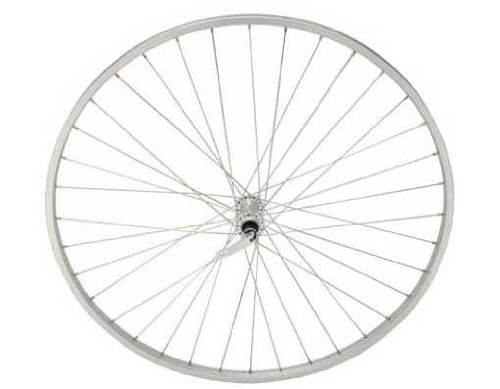 27'' x 1 1/4'' Alloy Front Wheel 14G W/Q.R Bicycle wheel, bike wheel, 27'' bike wheel, 27'' bicycle wheel, fixed gear bike, track bike, bike part, bicycle part by Lowrider