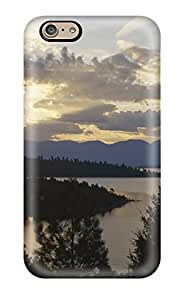 Fashionable Style Case Cover Skin For Iphone 6- Sunset