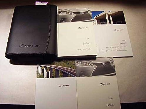 2014 lexus ct 200h owners manual guide book water damage lexus rh amazon com 2014 ct200h owners manual lexus ct200h owner's manual