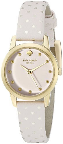 kate spade new york Womens 1YRU0919 Mini Metro Analog Display Japanese Quartz Pink Watch