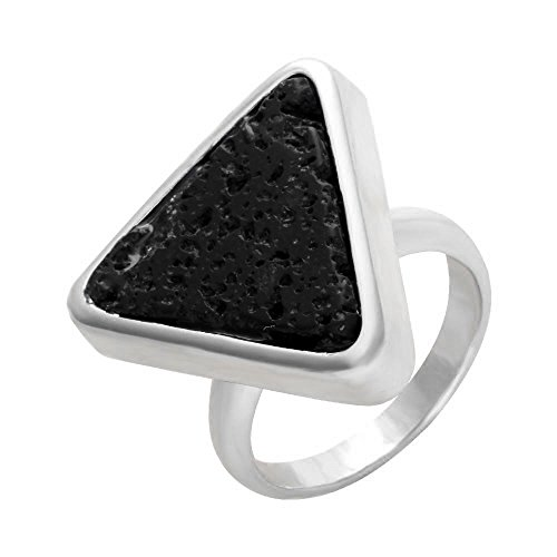 Black Geometric Ring - 6