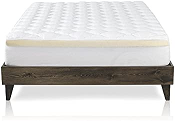 ExceptionalSheets Mattress Pad with Fitted Skirt Double Mattress