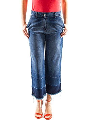 Carrera Jeans - Jeans 752 per donna, modello pinocchietto, look denim, tessuto elasticizzato, vestibilit