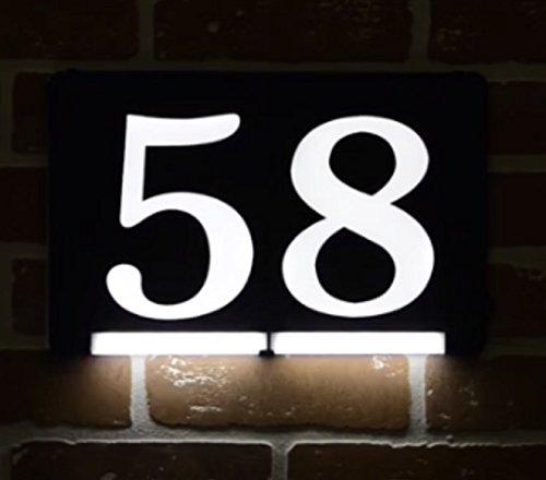 address numbers modern - 2