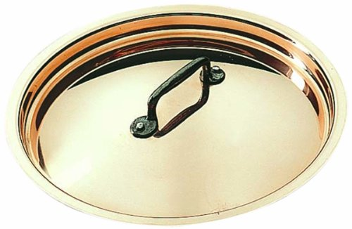 Matfer Bourgeat Copper Lid  365024, 9 1/2'' by Matfer Bourgeat