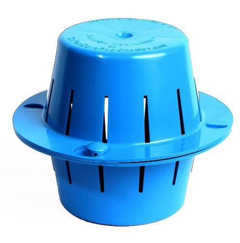 Sinking Floating Chlorine Dispenser | Uses LESS Chlorine | Sinks - Cleans Pool Water - Then Floats for Refilling | Sunken Treasure (Light Blue)