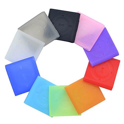 ASIV 10 x Silicone Skin Case Cover for iPod Shuffle 4th Gen Random Color](Ipod Shuffle Gen 4)