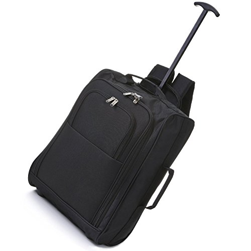 5-cities-cabin-approved-multi-use-carry-on-flight-bags-luggage-trolley-bag-backpacks-black