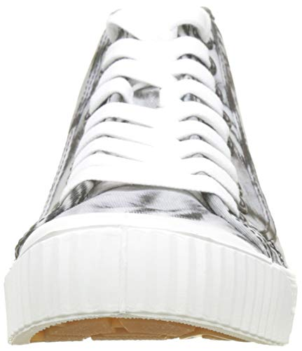 Sneaker Wmn Alto Black 5951 AOP G RAW Collo Ao Mid STAR Rovulc a Donna Multicolore White pYpXq
