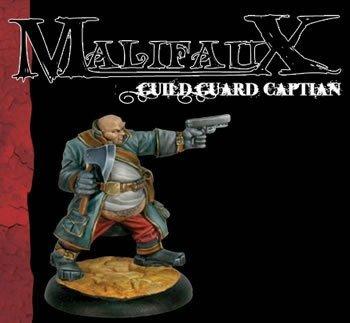 Guild Guard Captain - Guild Faction by Wyrd Miniatures
