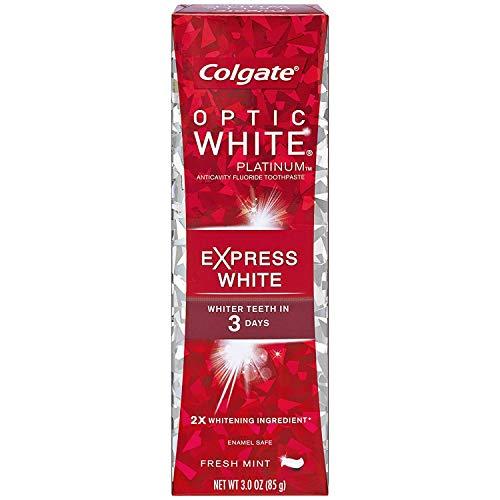 アスペクトアレルギー性実際コルゲート 歯みがき粉 オプティック ホワイト 3Days エクスプレス ホワイト (85gX2本)