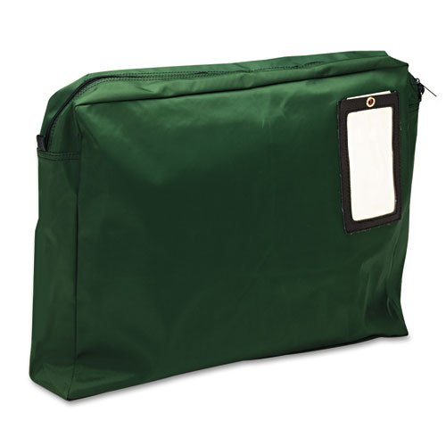 Expandable Dark Green Transit Sack, 18w x 14h x 4d, Sold as 1 Each by MMF Industries