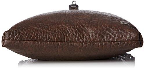 La Bagagerie Flybbl - Bolso cruzados para mujer Taille unique marrón