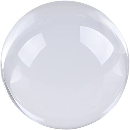 50mm Ultra Transparent Quartz Crystal Ball Home Healing Photography Photo Props