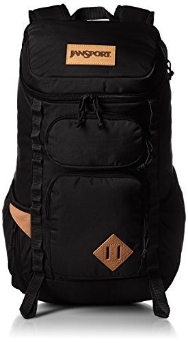 Jansport Mens Outside Specialty Night Owl Backpack Black