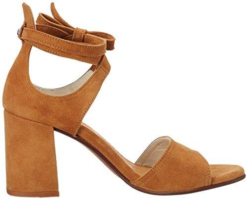 Donna O'polo Marrone Heel Sandali High Marc Sandal 70214021303302 cognac zpw44Yq