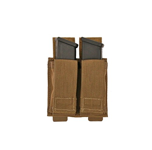 Tactical Tailor Fight Light Magna Double Pistol Mag Pouch, Coyote Brown (Fight Magazine)