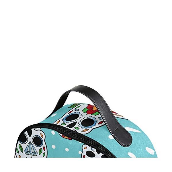 Blue Skull Pois Zaino per Donne Ragazze Ragazze Borsa Moda Bookbag Bambini Viaggio College Casual Daypack Ragazzo… 4 spesavip