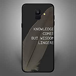 Samsung Galaxy A6 Knowledge come but Wisdom lingers