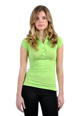 Emma's Mode Junior Back-to-School Short Sleeve Polo T-Shirt