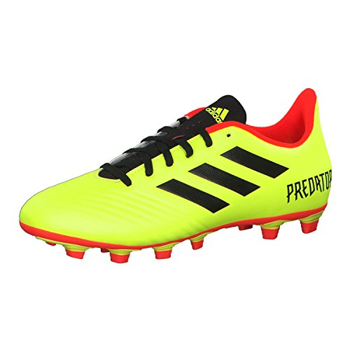 adidas Predator 18.4 Firm Ground Mens Soccer Boot Yellow Energy Mode