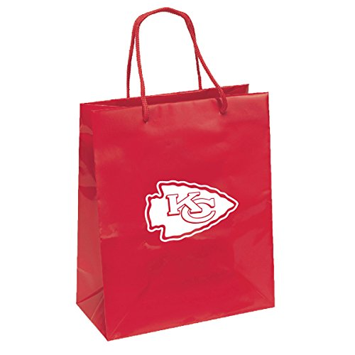 Pro Specialties Group NFL Kansas City Chiefs Gift Bag, Red/Yellow, One - Bag Pro Specialties