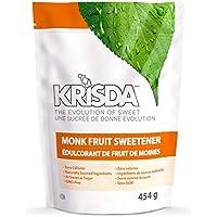 Krisda Monk Fruit Spoonable Natural Sweetener, 454 grams
