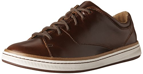 amazon cheap price Clarks Norsen Lace Mens Oxford Sneakers Dark Tan Leather best prices sale online visa payment for sale clearance big sale oYUgjU