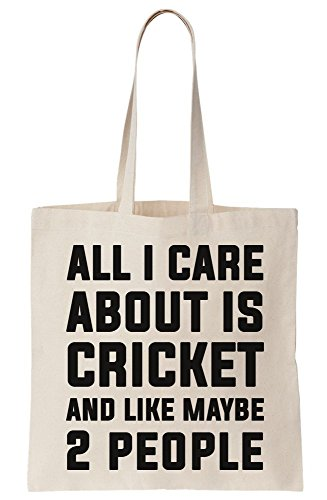 Bag About And I Cricket Care Canvas Is Tote All People Maybe Like 2 HqZcU6U