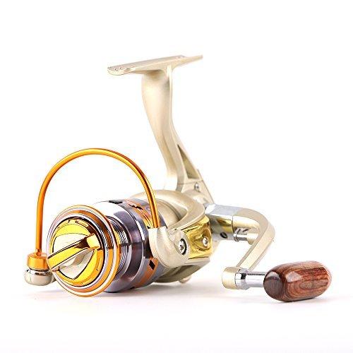 Fishing Reel 12 BB Ball Bearing Spinning Fishing Wheel, 1000 Series