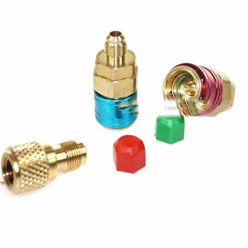 R134a Auto Quick Coupler Bass Adapters W/1/4