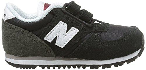 Nouvel Équilibre 420 Crochets Et À Boucles, Zapatillas Para Bebés, Noir (noir), 21 L'ue