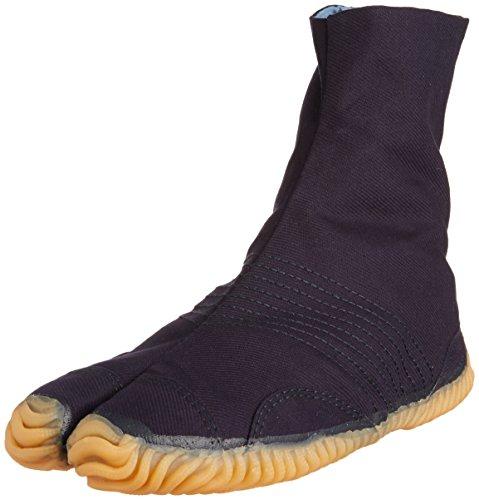 Amazon.com : Japanese Tabi Shoes Matsuri Jog Navy 6 Clips ...