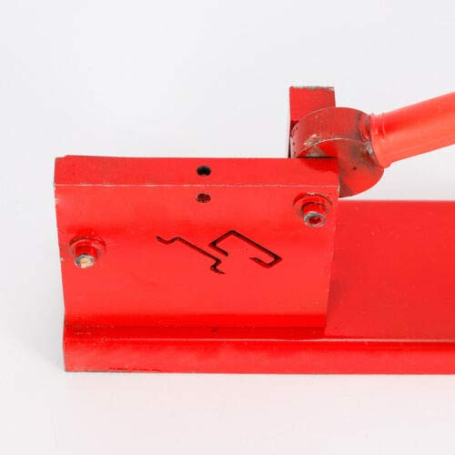 Din Rail Cutter Tool, Manual Guide Cutting Machine Professional Cutter Tools DIY Two Groove for Rail, Steel Rail, G Type Rail by MONIPA (Image #6)