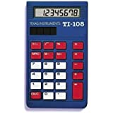 Texas Instruments 108/bk/d Ti-108 School Calculator