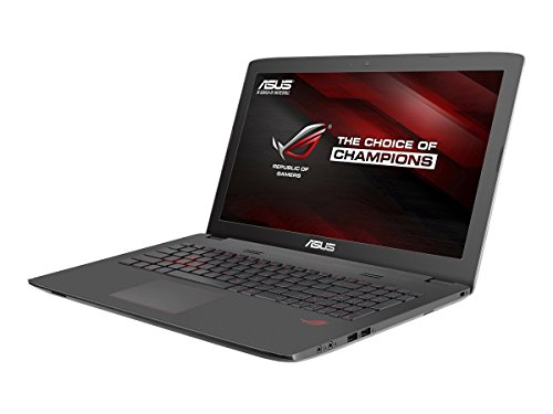 ASUS ROG GL752VW-DH71 17.3-inch Gaming Laptop (Intel i7 2.6GHz, 16GB DDR4 RAM, 1TB HDD,  GTX960M 2GB Graphic Card, Windows 10)