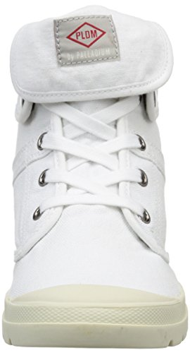 PLDM Blanc Palladium Ecuador mode White by femme Baskets rBrSfq
